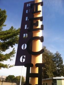bulldog tech sign